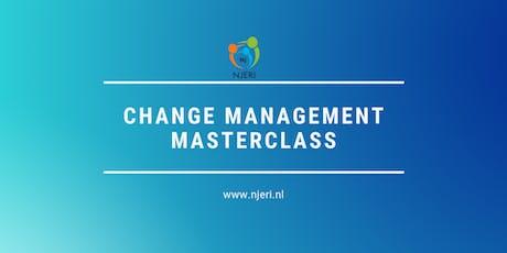 Change Management Certification MasterClass tickets