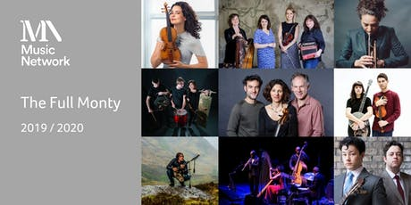 The Full Monty - 9 concerts for €120 tickets