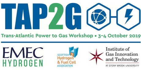 TAP2G: Trans-Atlantic Power to Gas Workshop  tickets