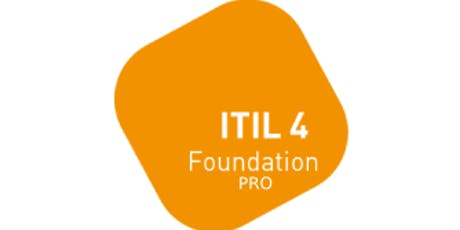 ITIL 4 Foundation – Pro 2 Days Virtual Live Training in Brussels tickets