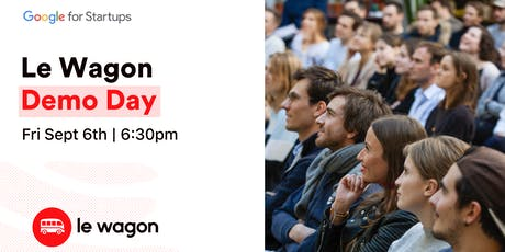 Le Wagon Demo Day - Batch #287 tickets