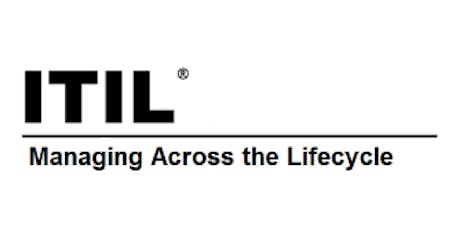 ITIL® – Managing Across The Lifecycle (MALC) 2 Days Virtual Live Training in Ghent tickets