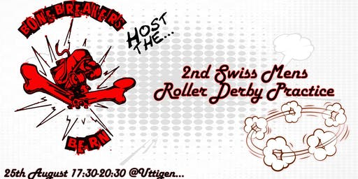 Open training for the 1st Mens Roller Derby Team in Switzerland