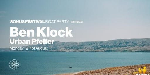 Boat Party - Ben Klock & Urban Pfeifer 19.08