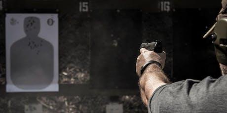 Defensive Handgun Fundamentals (DHF) Oct 26, 2019 tickets