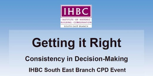 Getting it Right: Consistency in Decision-making