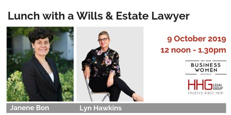 Business Women Australia: Perth, Lunch with a Wills & Estates Lawyer tickets