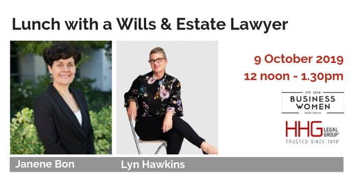 Business Women Australia: Perth, Lunch with a Wills & Estates Lawyer