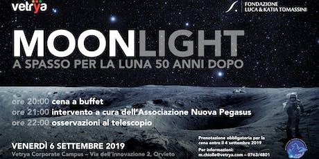 Moonlight. A spasso per la luna 50 anni dopo biglietti