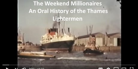 THE WEEKEND MILLIONAIRES  Tales from the Thames. - FILM tickets