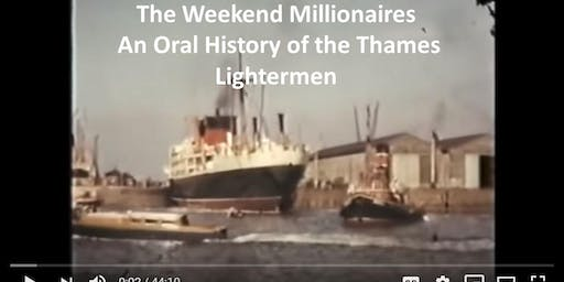THE WEEKEND MILLIONAIRES  Tales from the Thames. - FILM