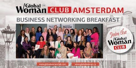GLOBAL WOMAN CLUB AMSTERDAM: BUSINESS NETWORKING BREAKFAST - NOVEMBER tickets