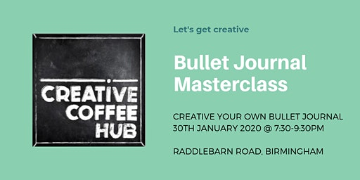 Bullet Journal Masterclass