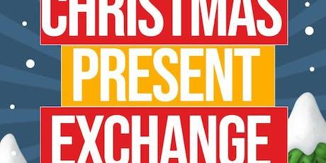 Christmas Present Exchange tickets
