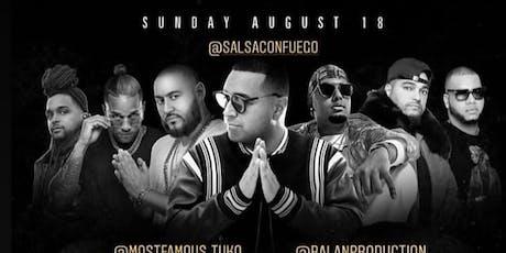 Let's Play Sundays Leo Affair DJ Camilo Live At Salsa Con Fuego tickets