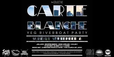 Carte Blanche - YEG Riverboat Party - SUN SEPT 8