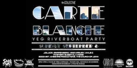 Carte Blanche - YEG Riverboat Party - SUN SEPT 8 tickets