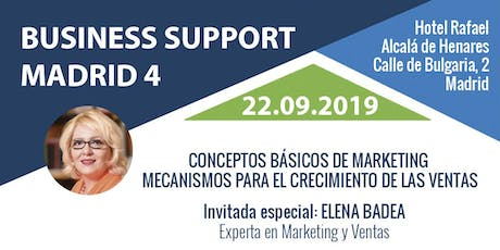 Business Support Madrid 4 entradas