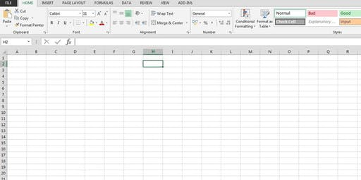 Excel Spreadsheet Training Course: Beyond the basics - Wednesday 25th September 2019