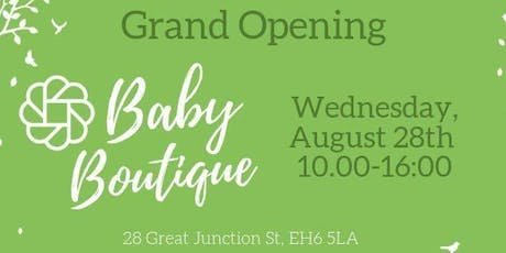 Baby Boutique - Grand Opening tickets
