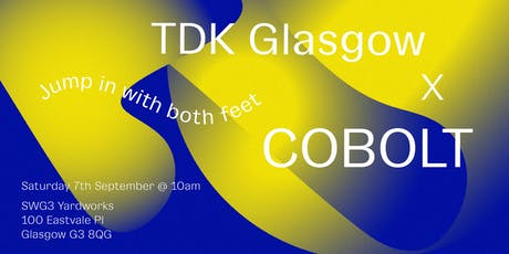 TDK Glasgow × Cobolt Collective tickets