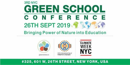 3rd NYC GREEN SCHOOL CONFERENCE 2019