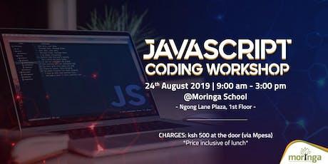 JavaScript Coding Workshop tickets