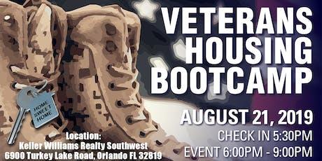 Veterans Housing Bootcamp tickets