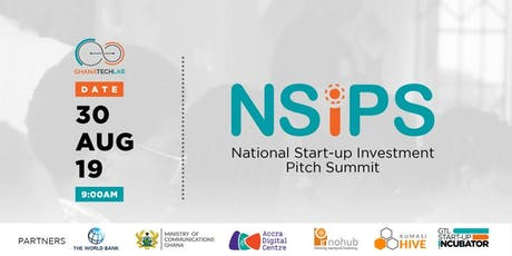 National Start-Up Investment Pitch Summit tickets
