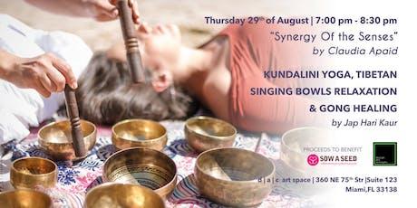 Kundalini Yoga Class, Tibetan Singing Bowls Relaxation & Gong Healing tickets