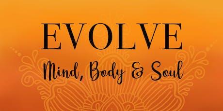 Evolve: Mind, Body & Soul - Yoga & Meditation Morning Retreat tickets