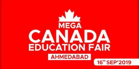 Mega Canada Education Fair 2019 - Ahmedabad tickets