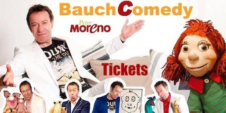 Peter Moreno - BauchComedy - Lachen ist Programm! Tickets