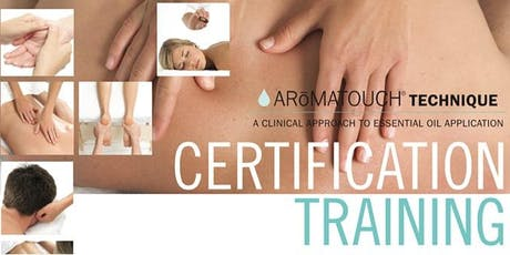 Aromatouch Technique Certification Training - Monkstown, Dublin tickets