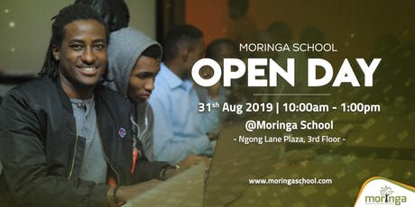 Moringa School Open Day tickets