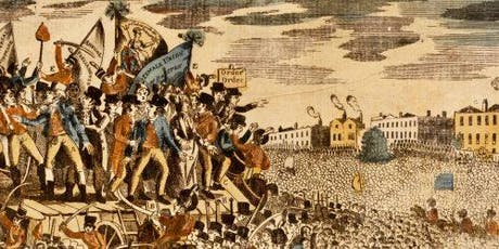 A celebration of the Peterloo 2019 programme tickets