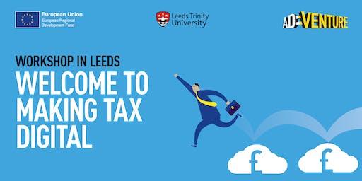 Making Tax Digital - Thursday, 24 October