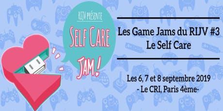 Les Game Jams du RIJV#3 : Le self care billets