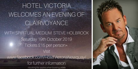 An Evening of Clairvoyance with Steve Holbrook tickets