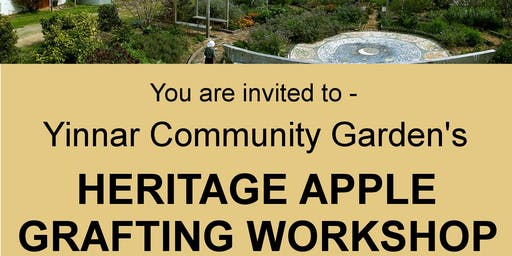 Heritage Apple Grafting Workshop - Bookings ESSENTIAL