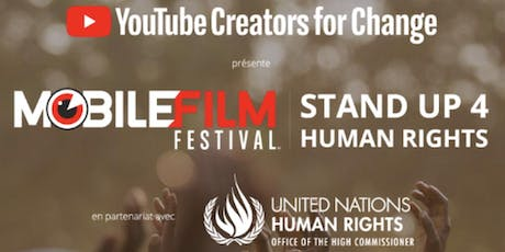 移動電影節/Mobile Film Festival #StandUp4HumanRights [FREE] tickets