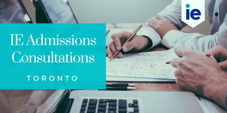 IE Admission Consultations - Toronto tickets