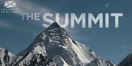 Snowsport Scotland Summit 2019  tickets