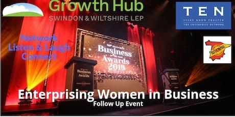 SWBOYA - Enterprising Women in Business Follow Up Event tickets
