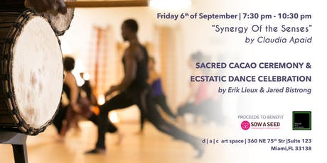 Sacred Cacao Ceremony and Ecstatic Dance Celebration tickets