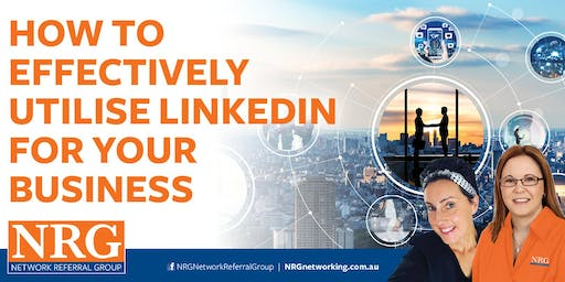 NRG Networking -How to Use Linkedin to Generate Business!