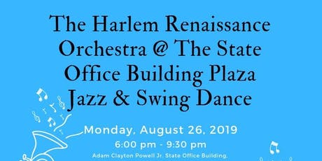West Harlem Arts & Jazz Fest: Swing Dance Uptown on the Plaza  - Celebrating the Harlem Renaissance Centennial tickets