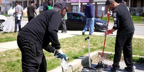 AAME Connecting to the Community Clean Up tickets