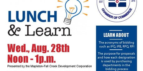 August Lunch & Learn - Understanding the Acronyms of Bidding w/ IBCC tickets
