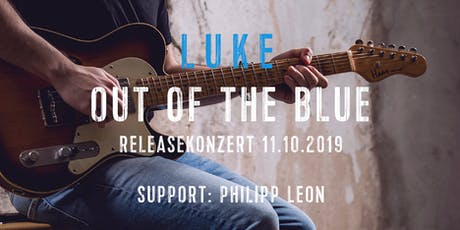 LUKE - Out of the Blue - Releaseshow Tickets